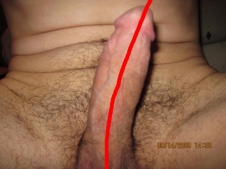 Penis Curves Left 8